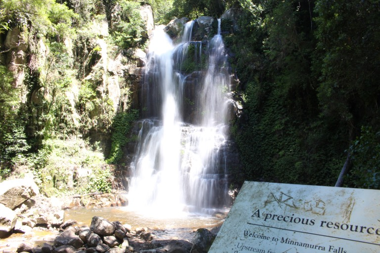 Minnamurra Falls, holiday, waterfall